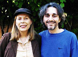 Joni Mitchell and Wally Breese