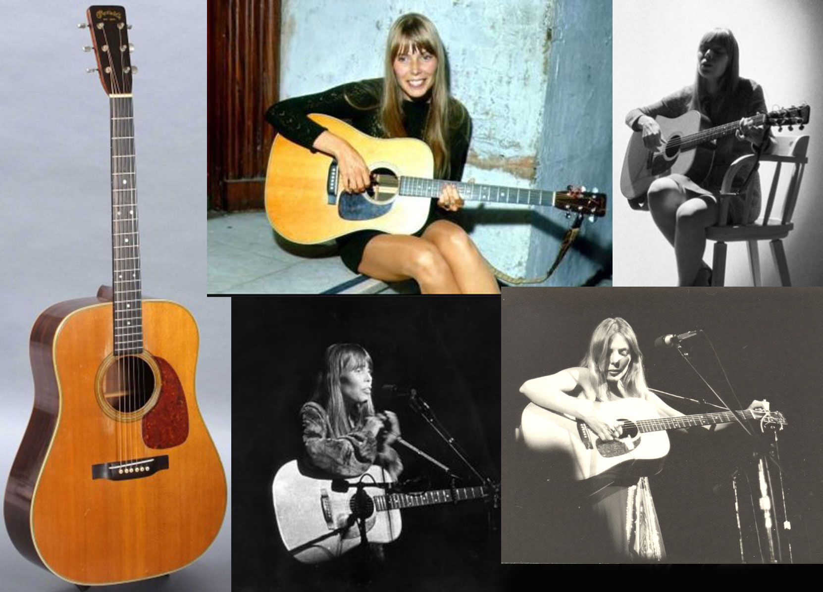 Joni Mitchell Library It Was The Decagon Of The Heavens