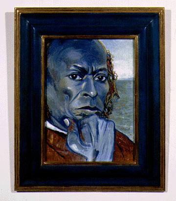 Joni Mitchell - Miles Davis - paintings