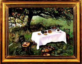 Joni Mitchell Picnic After Monet Paintings