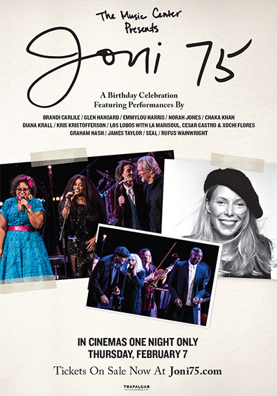 Joni Mitchell Library - Song and Celebration and a Loving Veneration
