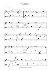 Joni Mitchell - Both Sides Now - transcription